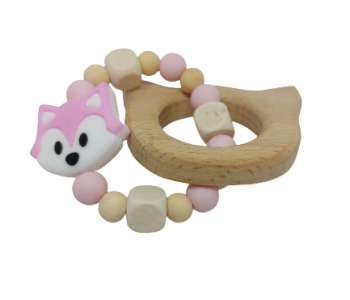 rózsaszin cica rágóka